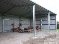 9 x 15 x 4.2 - 3 Bay Farm Hay + Machinery Shed - JE50  - Korumburra, South Gippsland