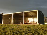 9 x 15 x 4.2 - Farm Hay + Machinery Shed - JE50  - Korumburra, South Gippsland