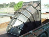 Coal Chute - Jumbunna Engineering Korumburra