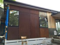 CorTen Weathering Steel - House - South Gippsland