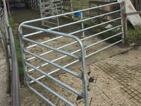 Cow Yard Gates - Bi-Fold - Jumbunna Engineering