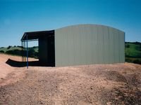 Curved Rood Shed - Jumbunna Engineering, Gippsland
