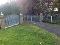 Driveway House Entrance Gates - Jumbunna Engineering