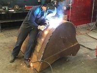 Welding Bucket Repairs - Jumbunna Engineering - Korumburra, South Gippsland