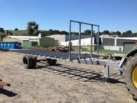 Farm Hay Trailer - Jumbunna Engineering, Gippsland