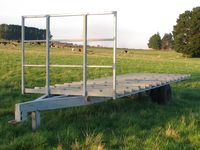 Farm Hay Trailer - Jumbunna Engineering Gippsland