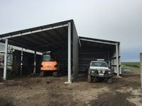 Farm Shed - Jumbunna Engineering - South Gippsland