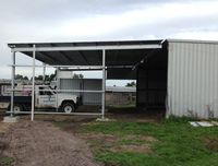 Farm Shed Extension - South Gippsland