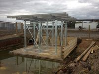 Flood Wash Tank Stand - Jumbunna Engineering