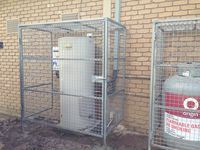 Gas Bottle Security Cage - Jumbunna Engineering