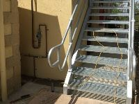 Handrail + Stairs - Jumbunna Engineering, Gippsland