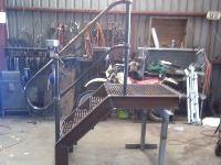 Handrail + Platform - Jumbunna Engineering