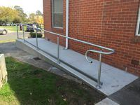 Handrail - Jumbunna Engineering, South Gippsland