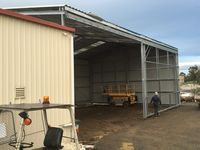 Industrial Shed Extension - Leongatha, Gippsland