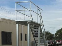 Platform + Handrail - Jumbunna Engineering