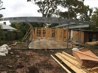 Residential Steel Frame Work, Inverloch - Jumbunna Engineering