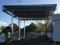 Service Station Canopy - Jumbunna Engineering