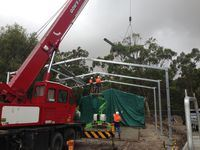Shed Extension - South Gippsland