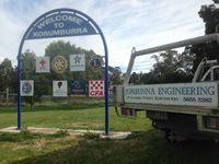 Sign Frame - Korumburra - Jumbunna Engineering