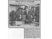 Les Welding Exam 'back in the day' - Jumbunna Engineering